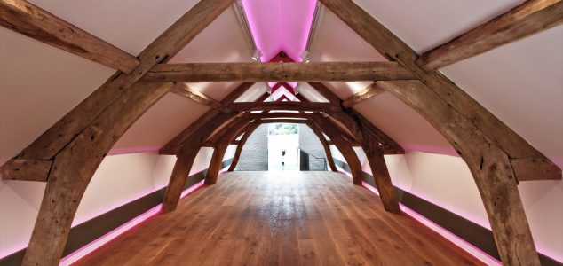 Canwood Gallery timber frame