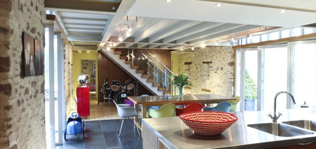 Grand Designs House, Hillcott Barn, Kitchen