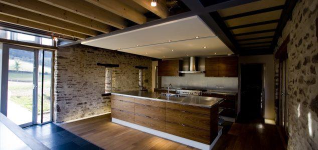 Grand Designs House, Hillcott Barn, Kitchen