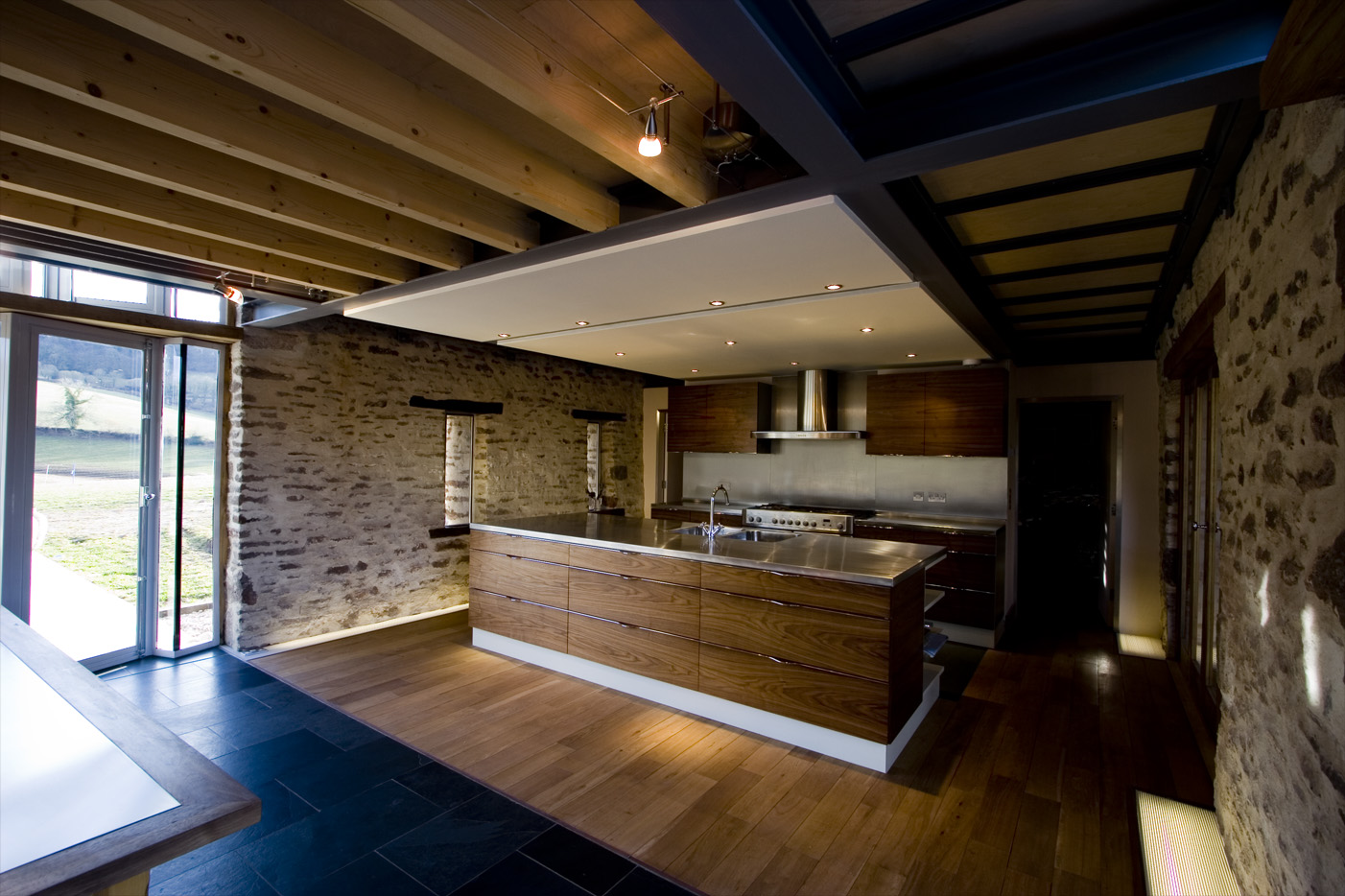 Grand Designs Herefordshire Old Threshing Barn Forest Of