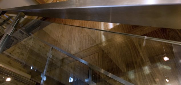 Grand Designs House, Hillcott Barn, Staircase