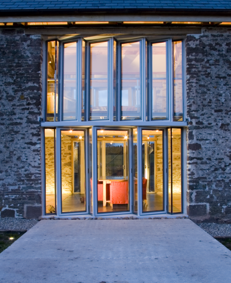 Grand Designs House, Hillcott Barn,