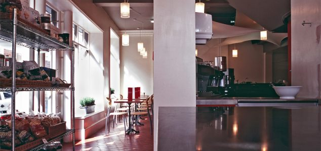 Bills cafe kitchen space