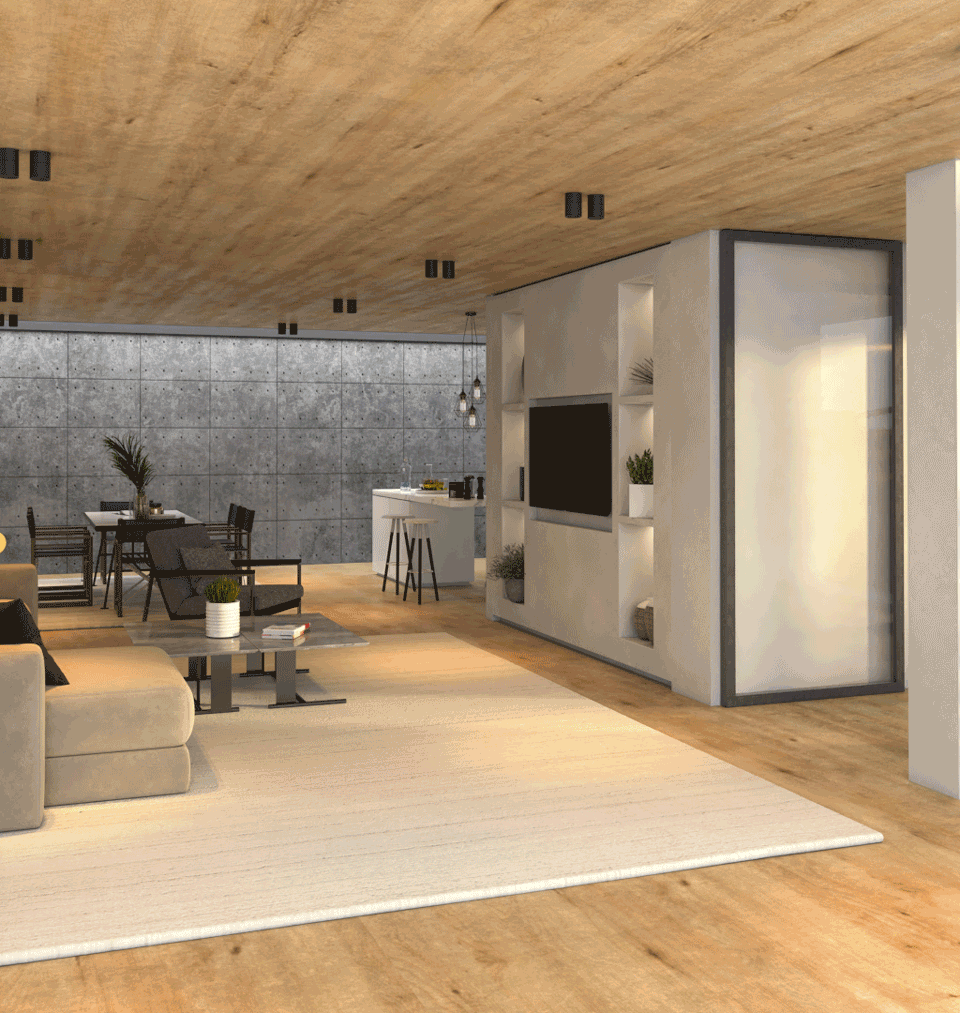 Low budget Grand Designs Interior 01