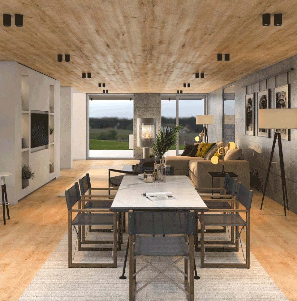 Low budget Grand Designs Interior 03